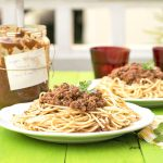soy-free and protein-rich vegan bolognese sauce