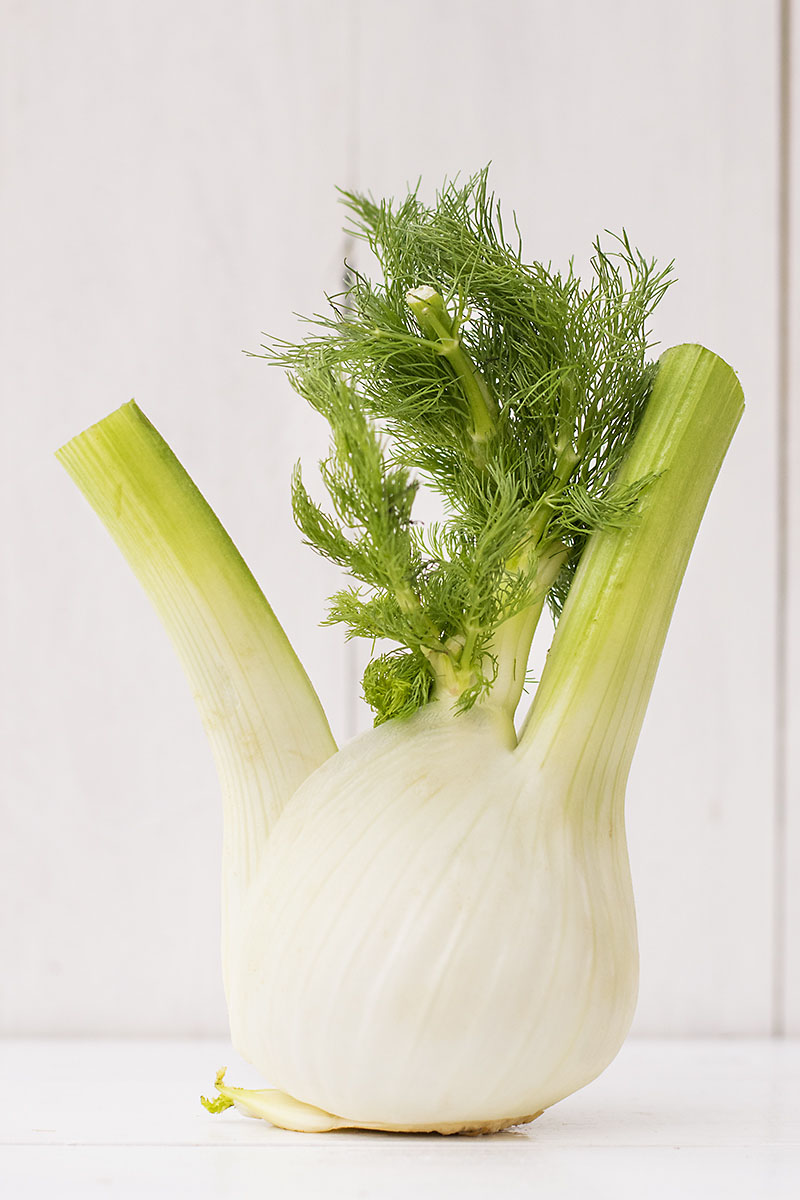 Shaved fennel, orange & ouzo salad
