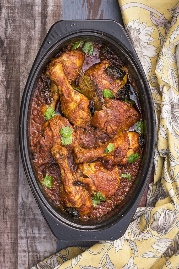 Moroccan baked chicken with 11 spices 2