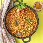 Easy Moroccan chickpea stew f