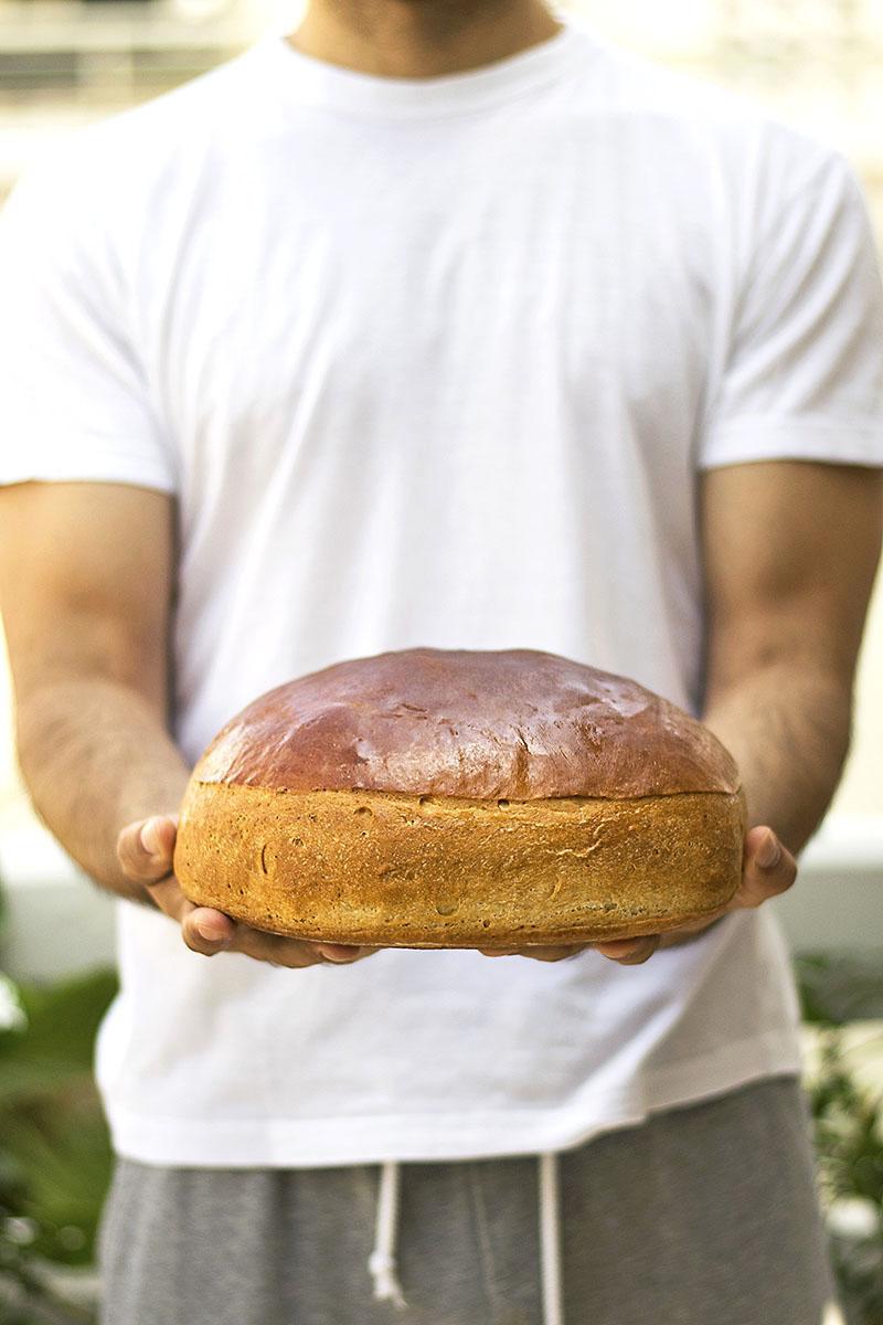 Greek ceremonial bread (Artos) 2