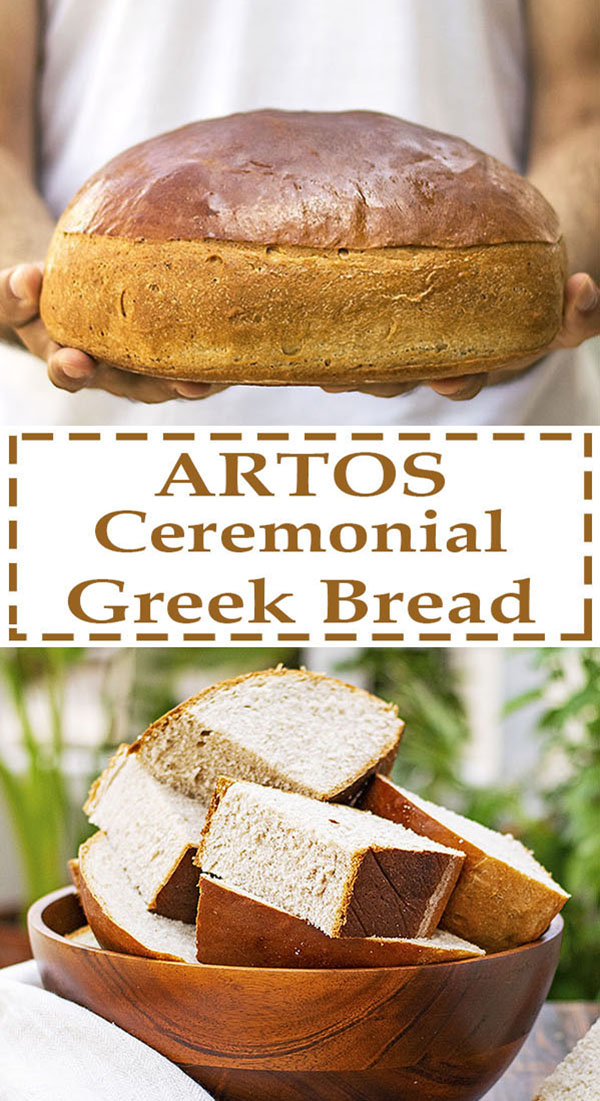 Greek ceremonial bread (Artos) 7