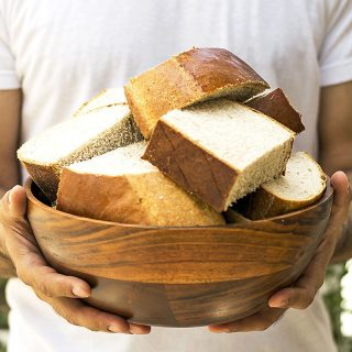 Greek ceremonial bread (Artos) featured
