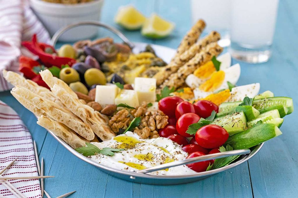 Greek meze plater 3