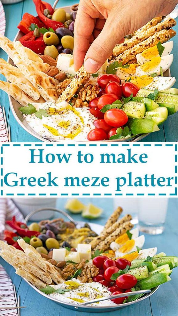 Greek meze plater 5