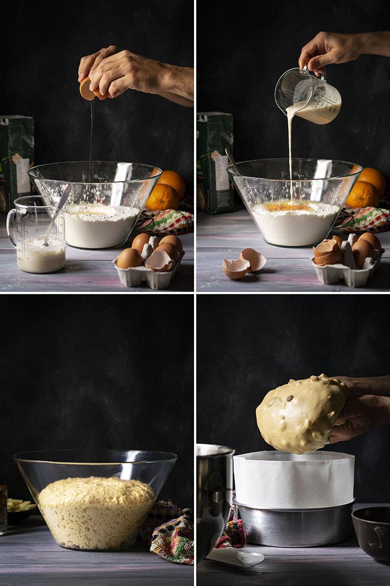 Easy Italian Christmas Bread (Panettone) 2