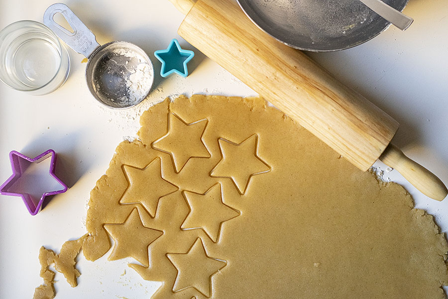 Easy sugar cookies recipe with olive oil 4