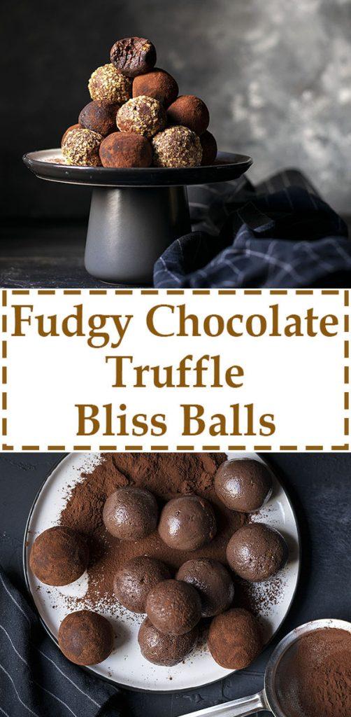 Fudgy chocolate truffle bliss balls (Vegan) 6