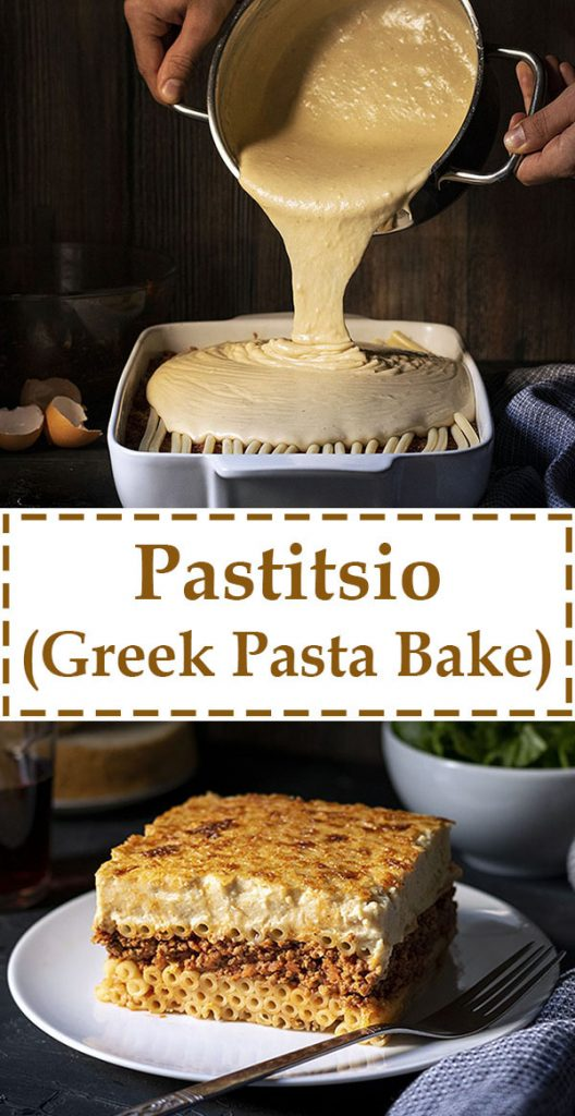 Pastitsio Recipe (Greek Pasta Bake) 6