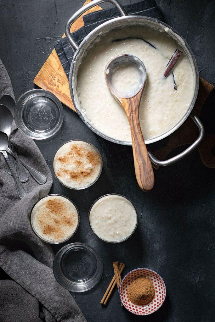 Homemade Greek Rice Pudding (Rizogalo) 2