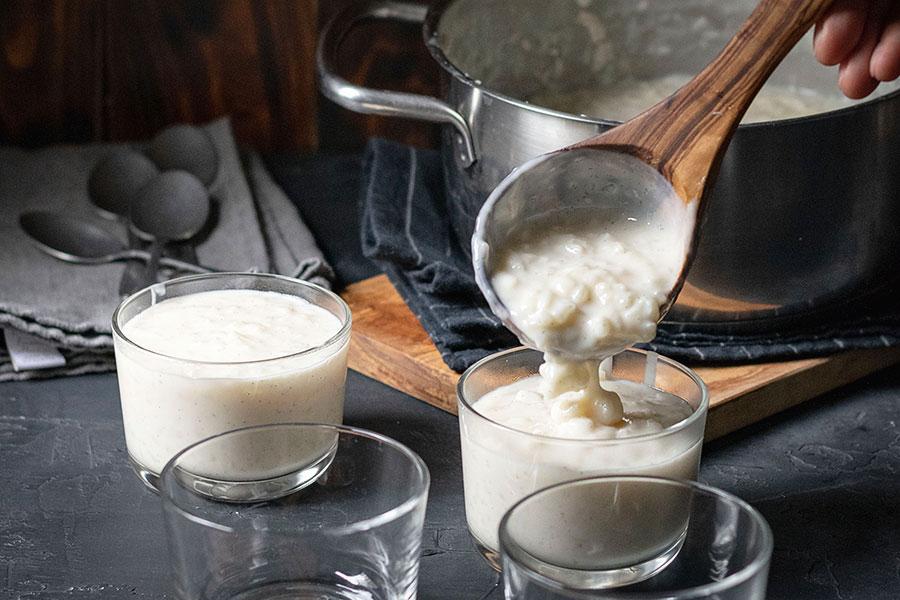 Homemade Greek Rice Pudding (Rizogalo) 3