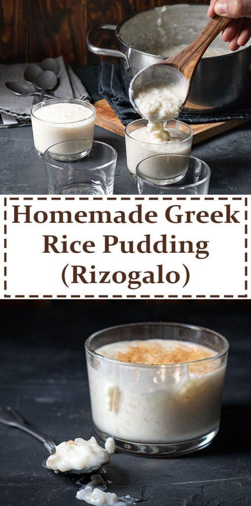 Homemade Greek Rice Pudding (Rizogalo) 6
