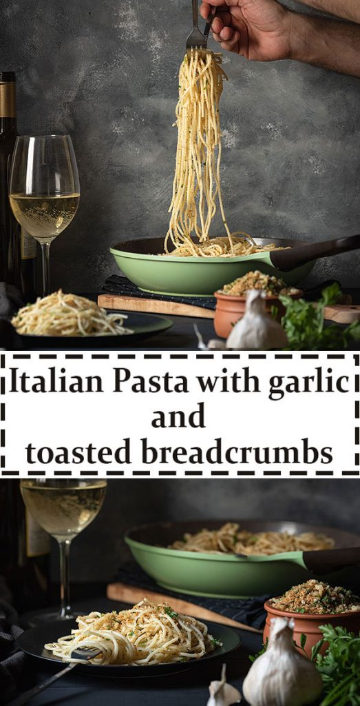 Italian toasted breadcrumb and garlic pasta 6