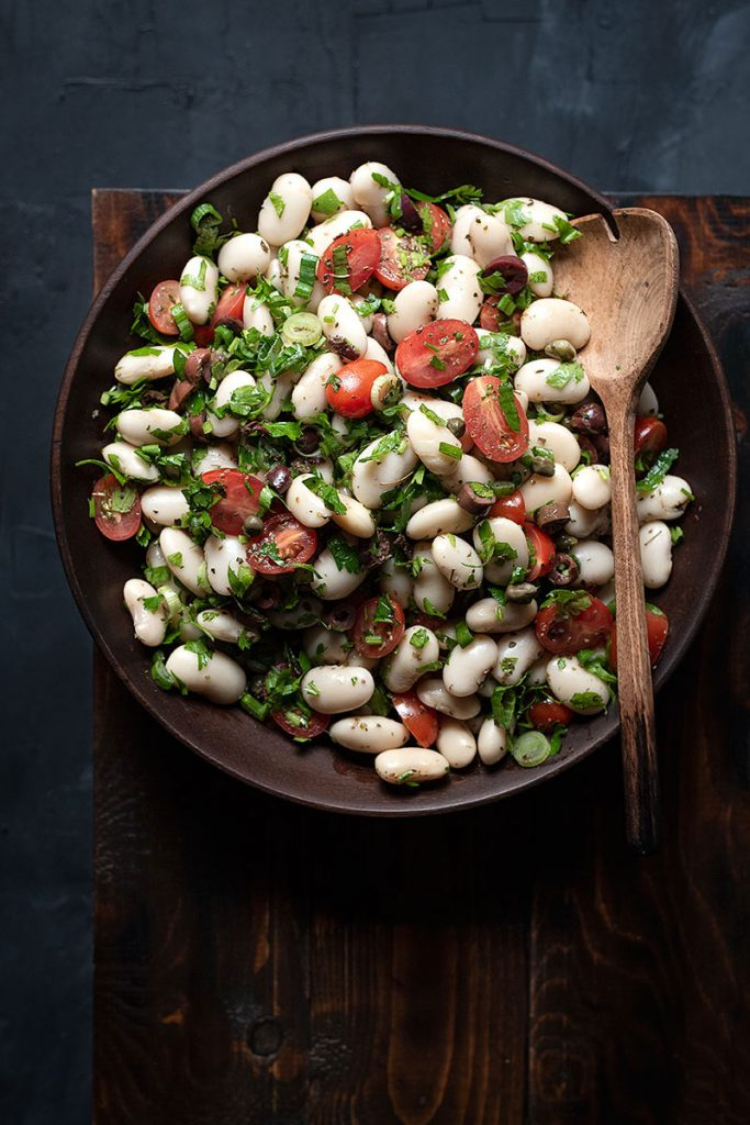 giant white bean salad 3