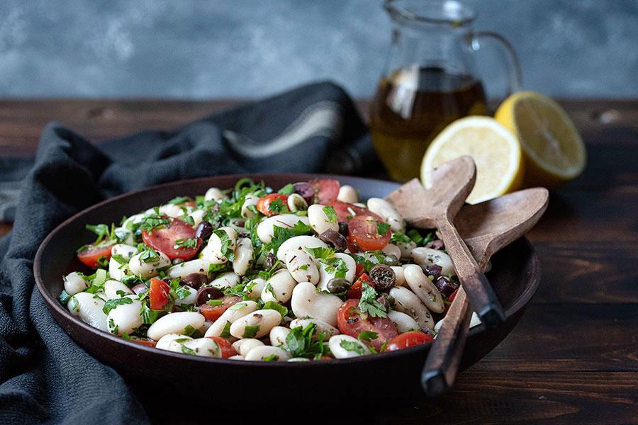 giant white bean salad 4