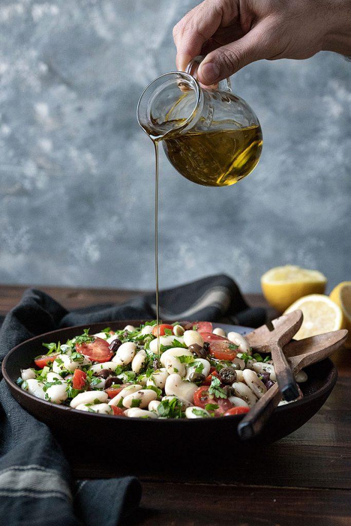 giant white bean salad 5