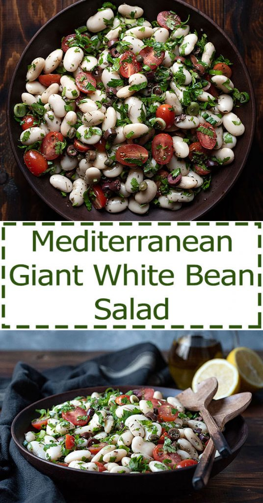 giant white bean salad 6
