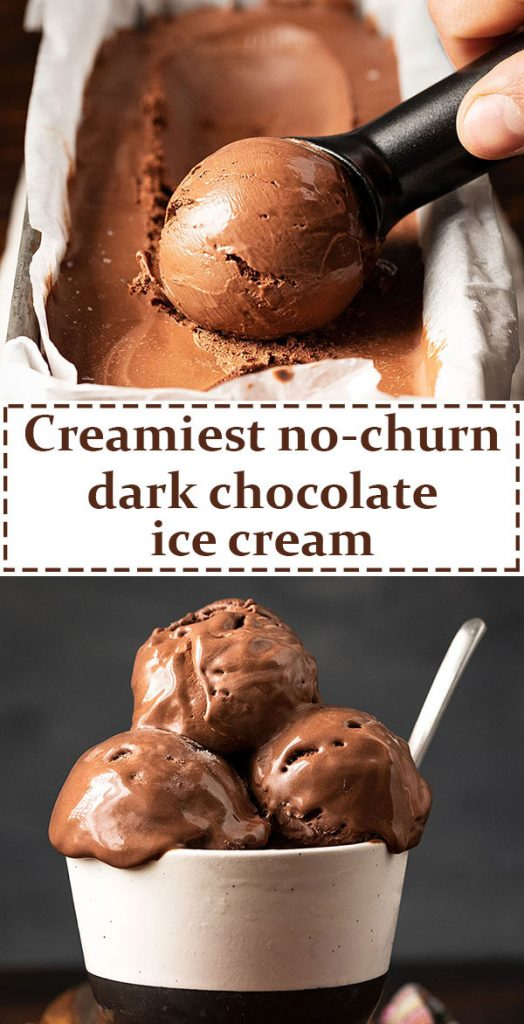Best homemade chocolate ice cream recipe (no churn, no eggs) 7
