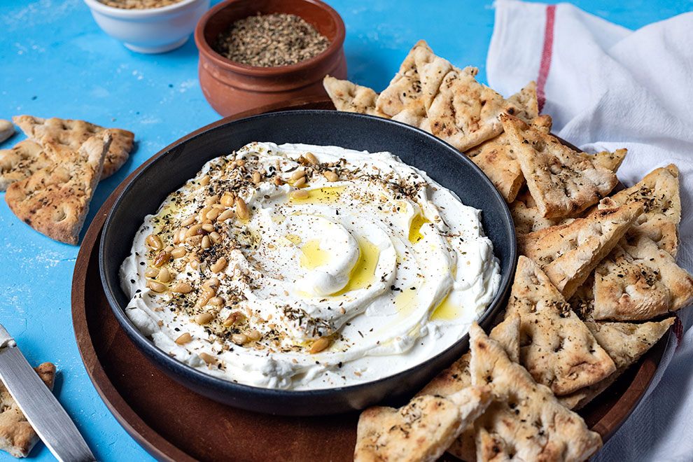 How to make labneh (Yogurt cheese) 3