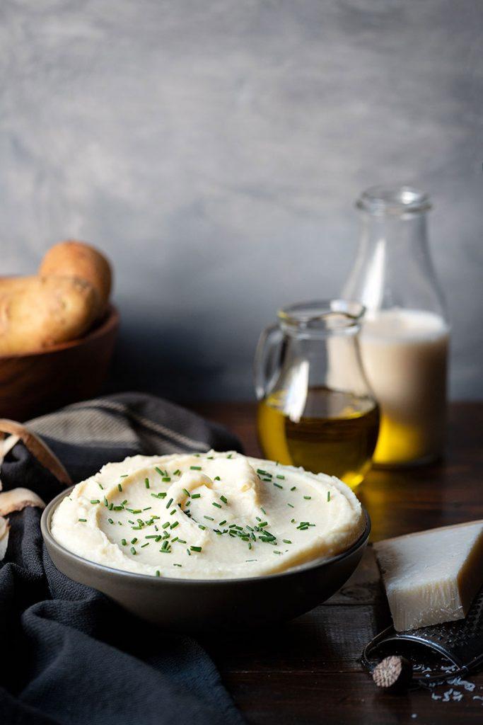Best homemade mashed potatoes recipe (Italian style)