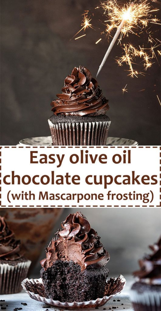 Moist chocolate cupcake recipe (and a Mascarpone frosting) 5
