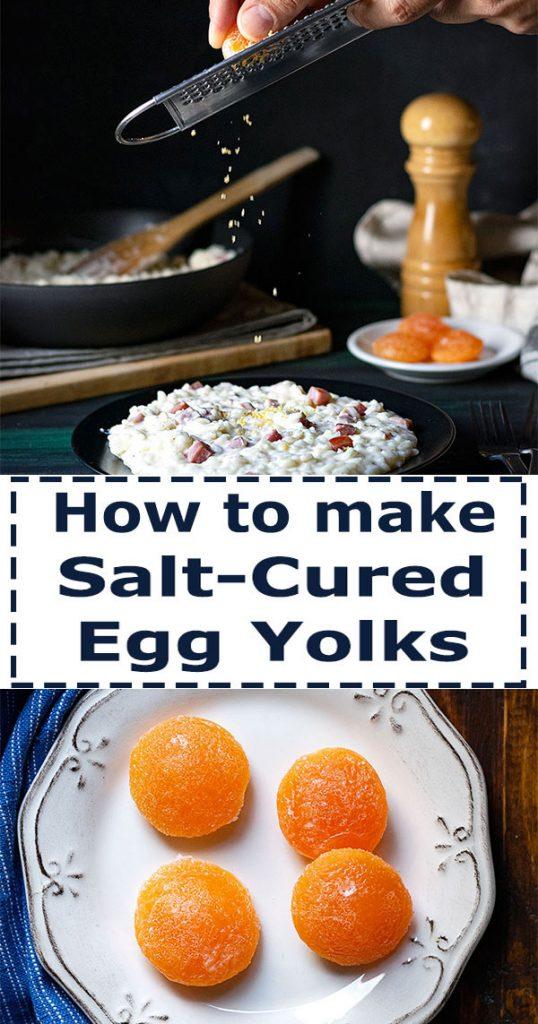 how to make salt cured egg yolks 5