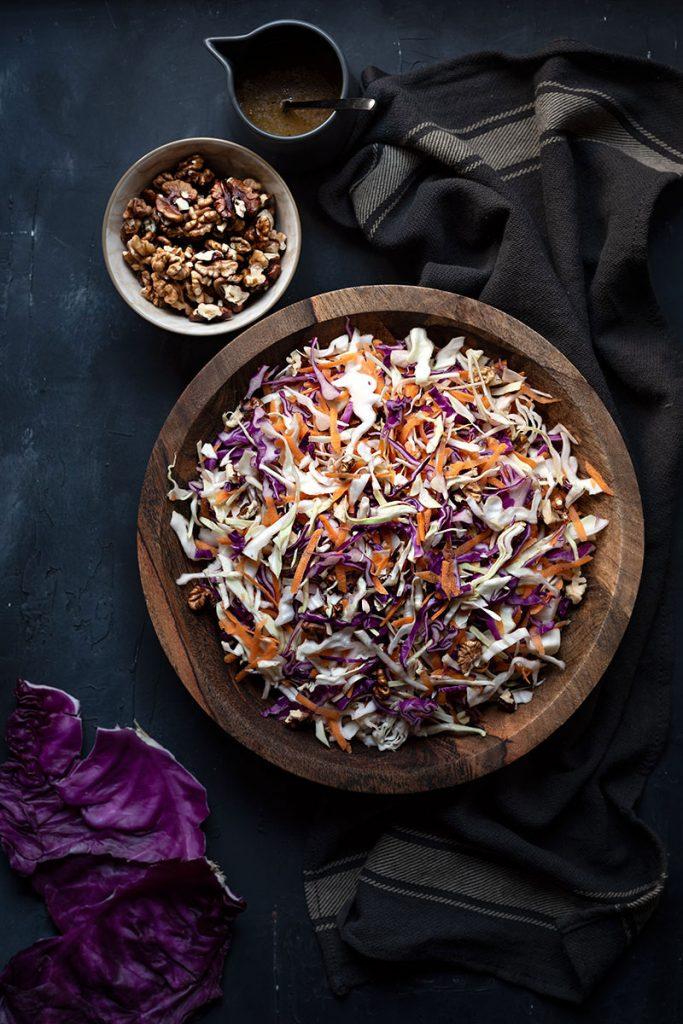 Greek cabbage salad recipe (Lahanosalata) 2