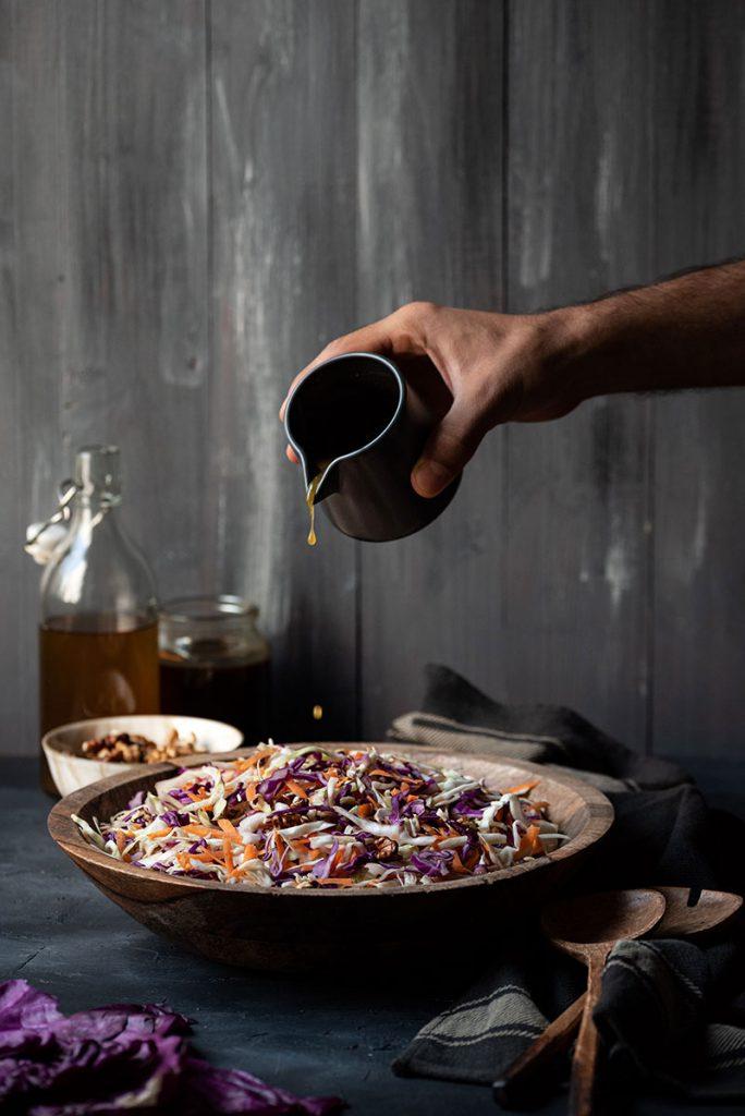 Greek cabbage salad recipe (Lahanosalata) 3
