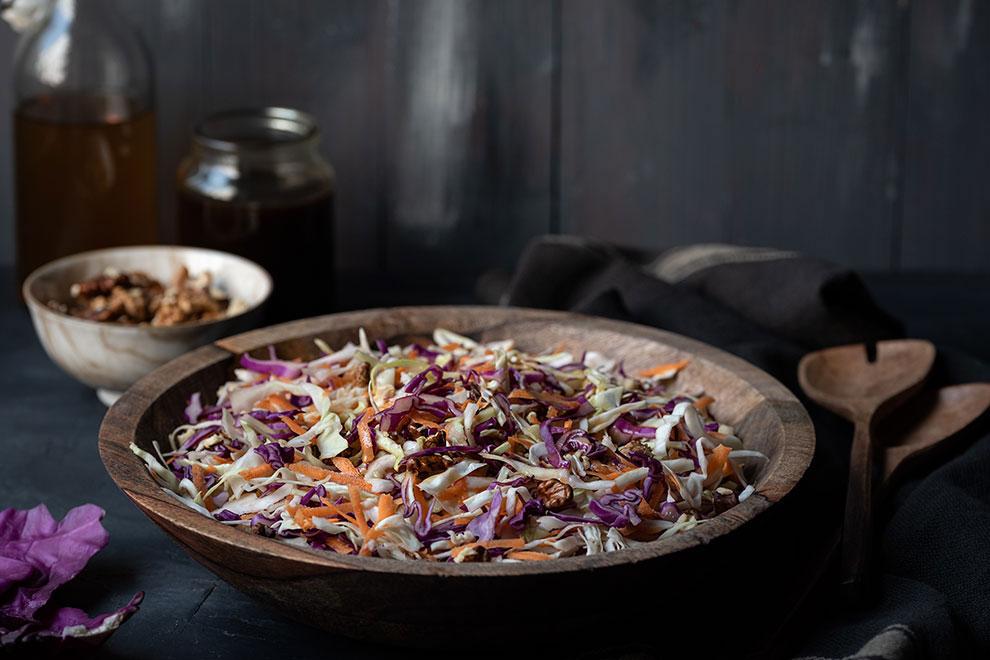 Greek cabbage salad recipe (Lahanosalata) 4