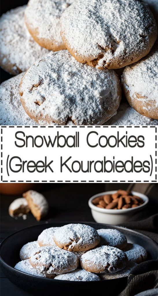 Snowball cookies recipe (Greek Kourabiedes) 7