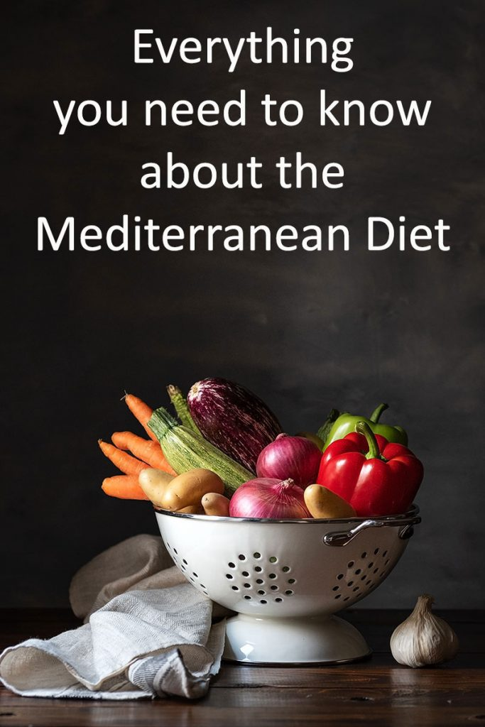 the mediterranean diet - vegetables and greens