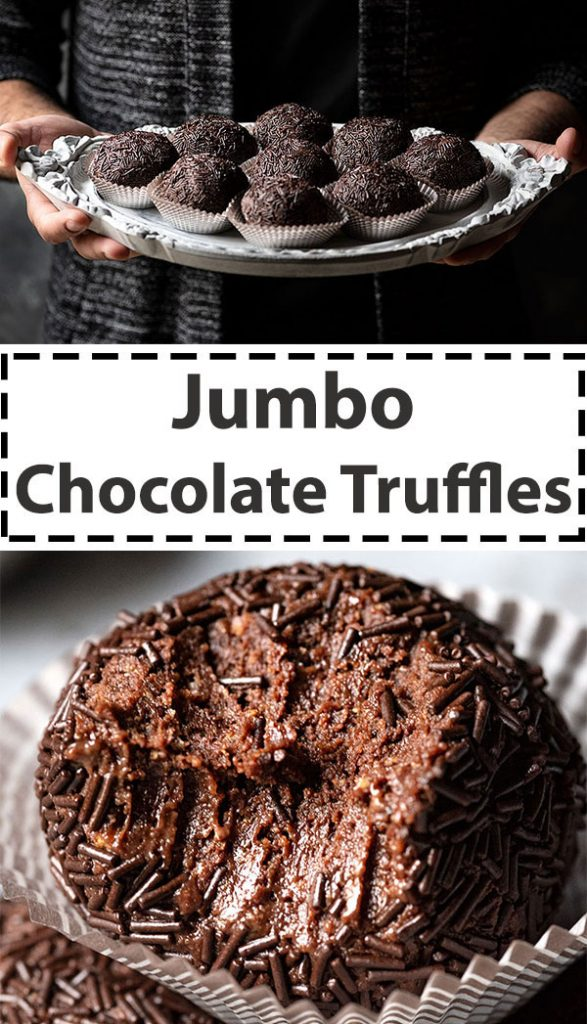 Jumbo chocolate truffles 6
