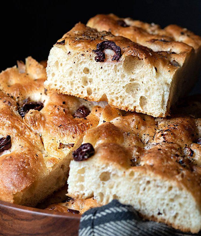 Basic focaccia bread recipe