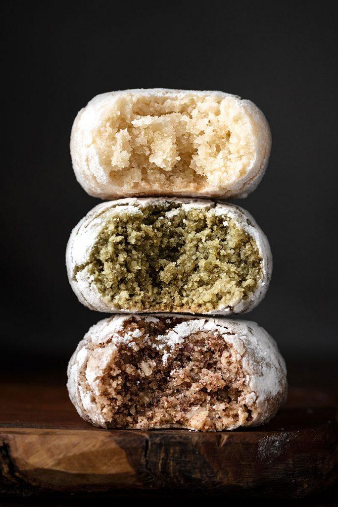 Italian almond cookies - soft amaretti 1