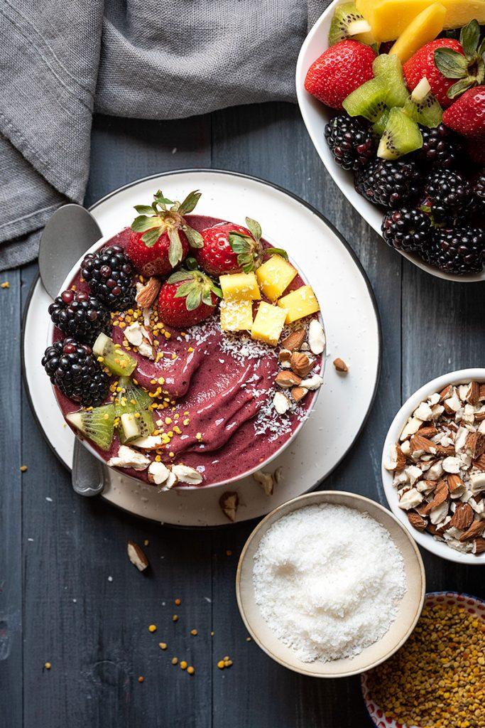Acai bowl nice cream 2