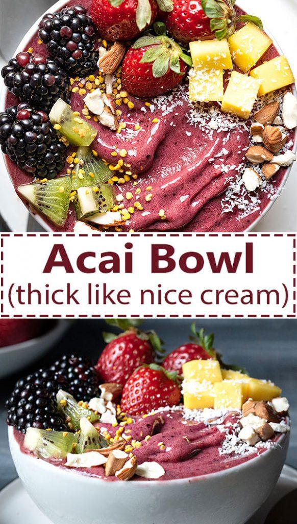 Acai bowl nice cream 5