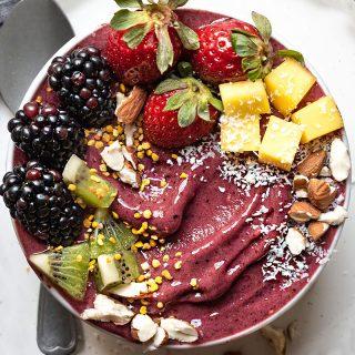 Acai bowl nice cream