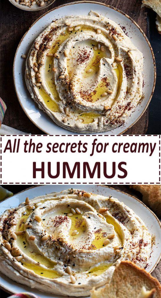homemade hummus recipe 5