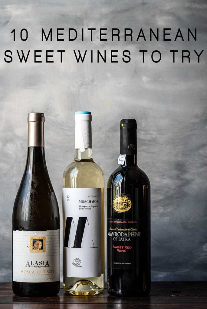 10 mediterranean sweet wines