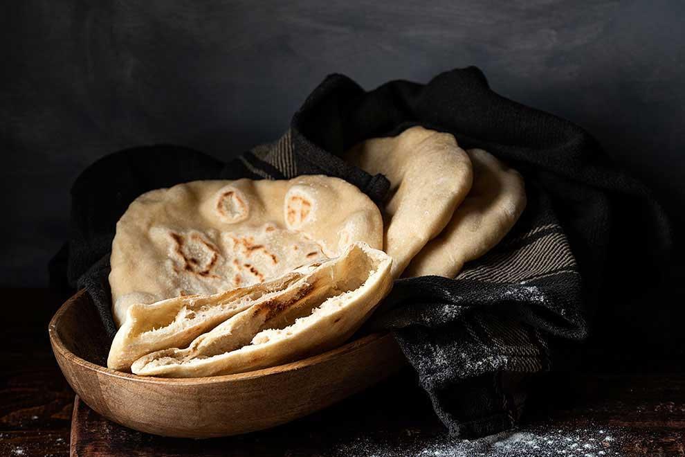 homemade pita bread 2