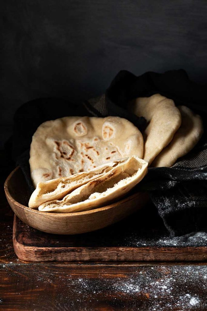 homemade pita bread 4