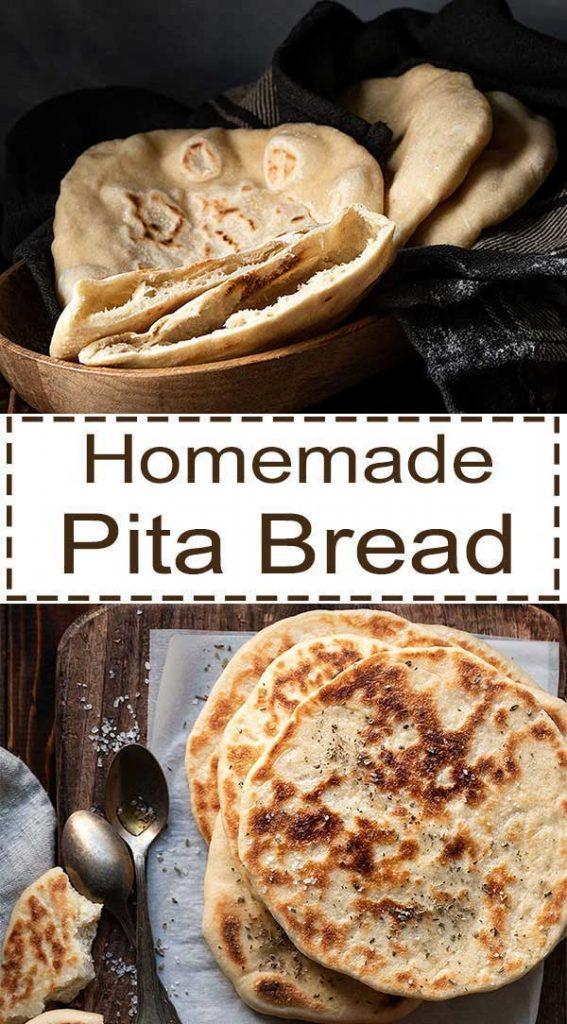 homemade pita bread 5