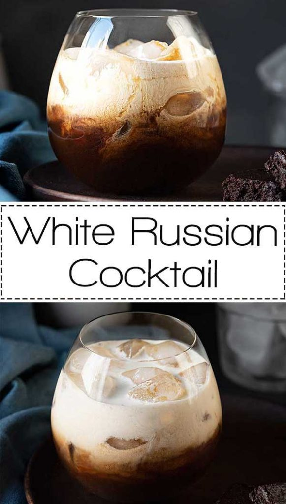 White Russian cocktail pinterest